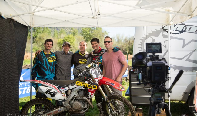 Motorcycle Superstore, Motocross, Commercial, Tyler Maddox, Maddox Visual, filming, film set, Director of Photography, cinematographer, Southern Oregon, Medford, Rogue Valley, Kevin Wyndham