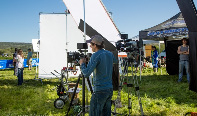 Motorcycle Superstore, Motocross, Commercial, Tyler Maddox, Maddox Visual, filming, film set, Director of Photography, cinematographer, Southern Oregon, Medford, Rogue Valley